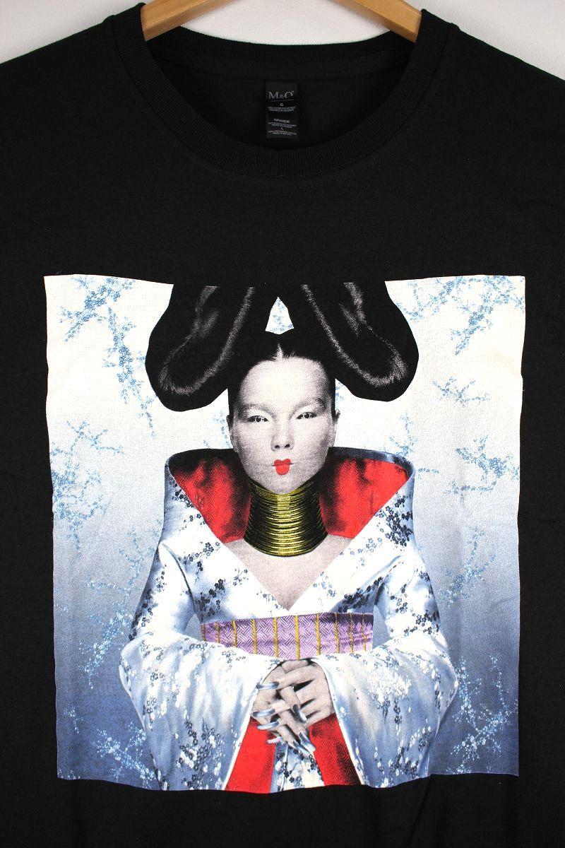 "BJORK / ""HOMOGENIC"" Tee / black"
