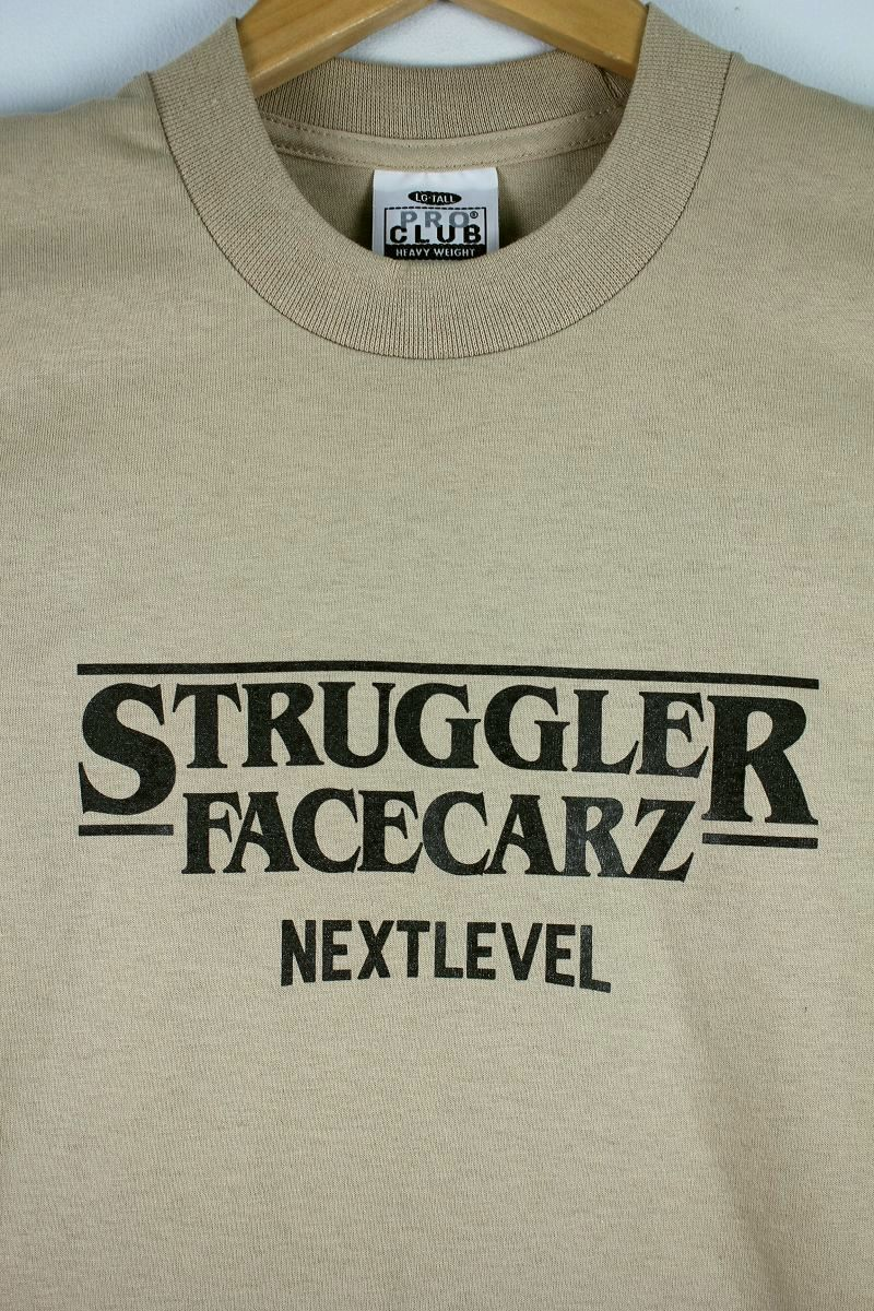 "FACECARZ / ""STRUGGLER THINGS"" Tee / khaki"