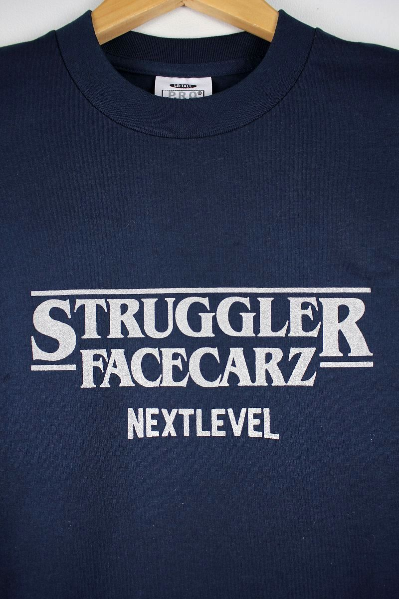 "FACECARZ / ""STRUGGLER THINGS"" Tee / navy"