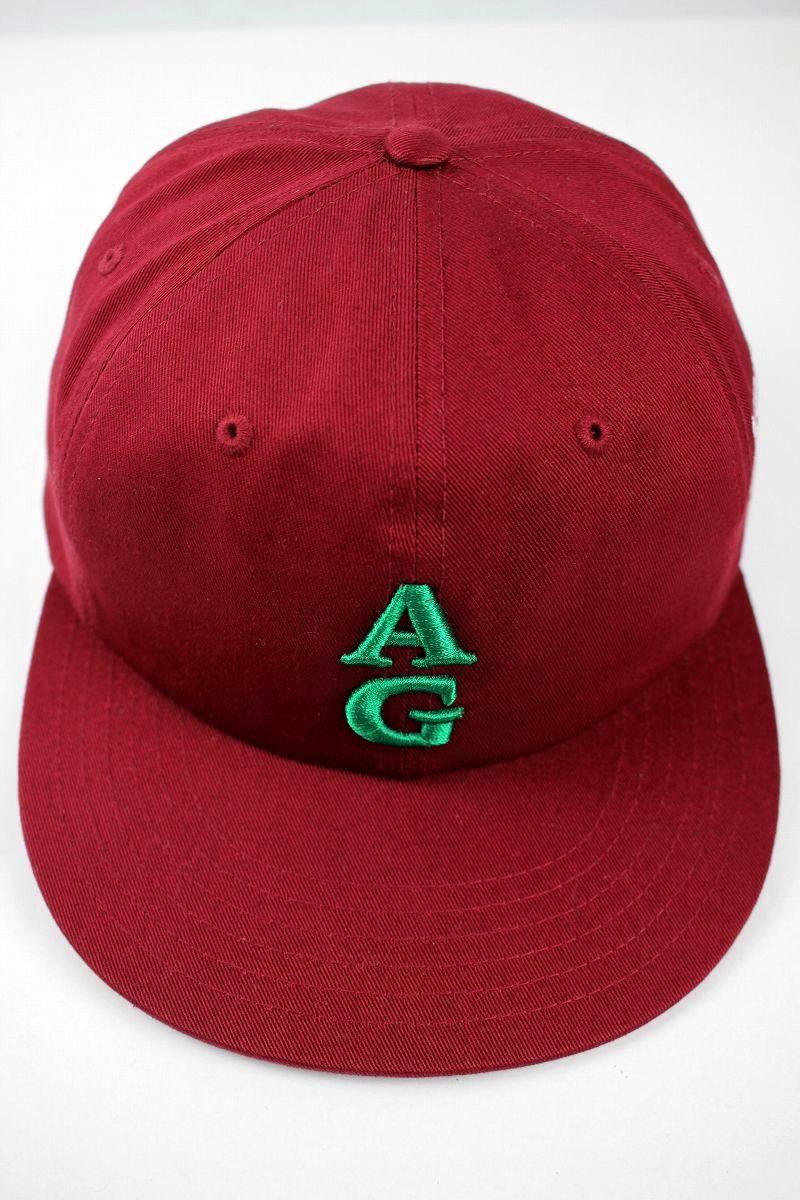 "ACAPULCO GOLD / ""TEAM AG"" STRAPBACK CAP / burgundy"