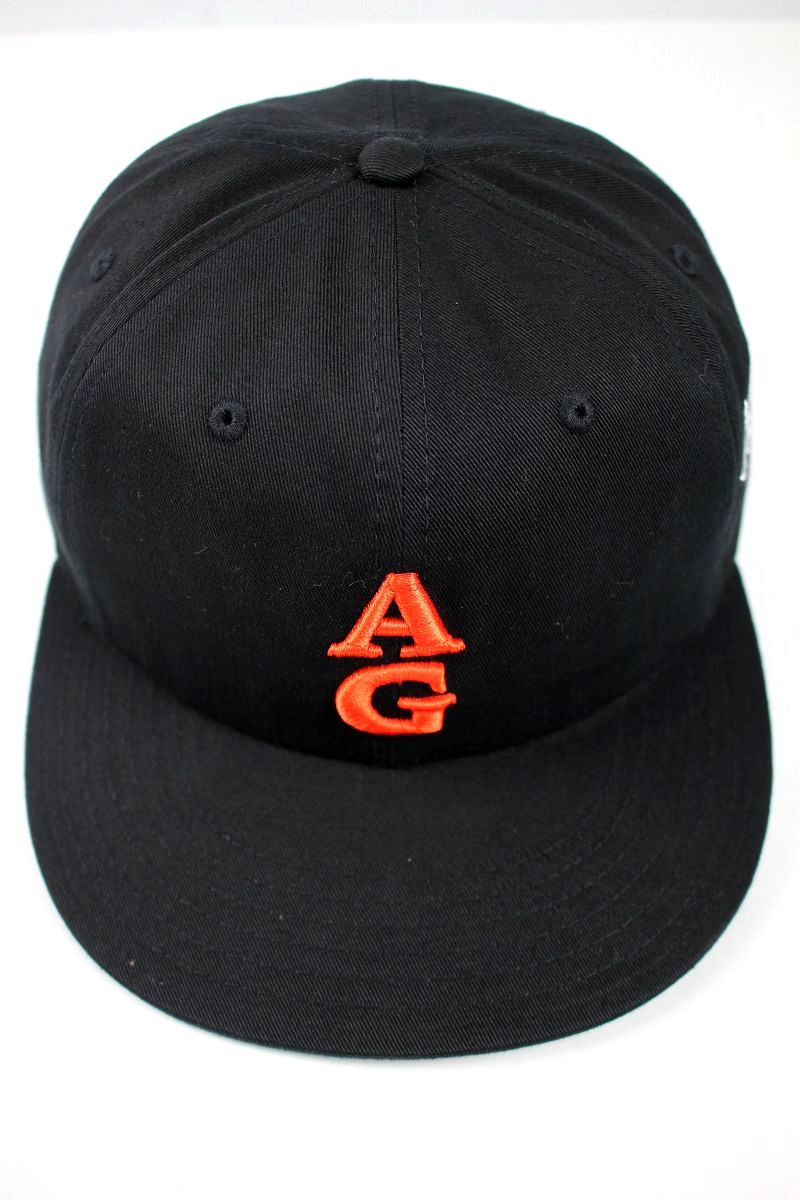 """ACAPULCO GOLD / """"TEAM AG"""" STRAPBACK CAP / black"""