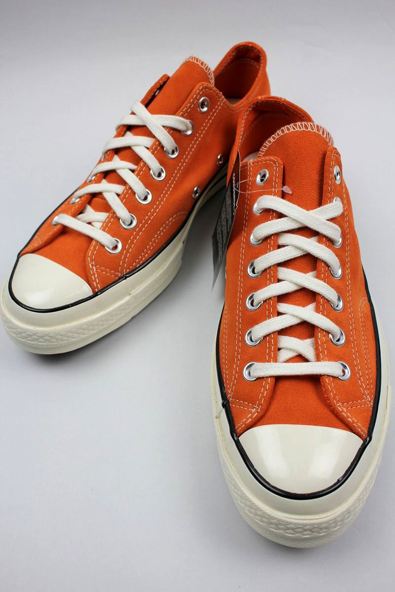 CONVERSE USA / CHUCK 70 SUEDE / orange×white