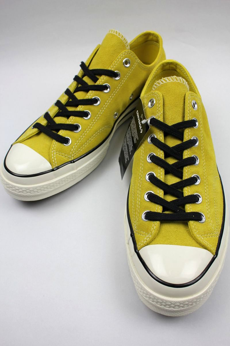 CONVERSE USA / CHUCK 70 SUEDE / yellow×white
