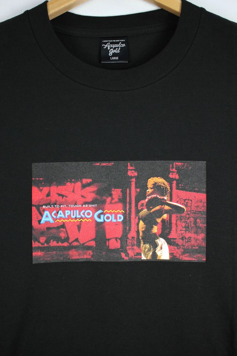 "ACAPULCO GOLD / ""BOUNCE"" Tee / black"