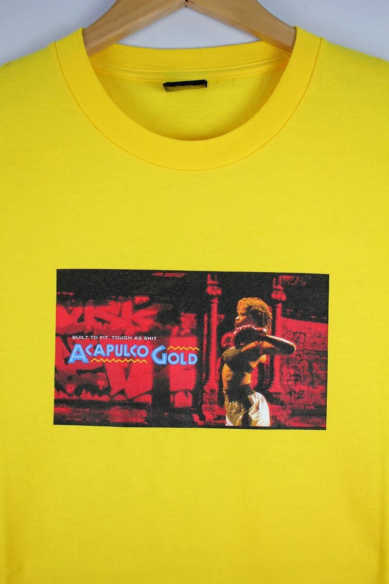 "ACAPULCO GOLD / ""BOUNCE"" Tee / yellow"