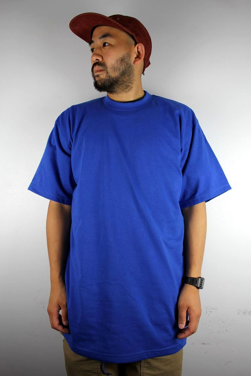 PRO CLUB / HEAVY WEIGHT CREWNECK Tee (TALL SIZE) / blue