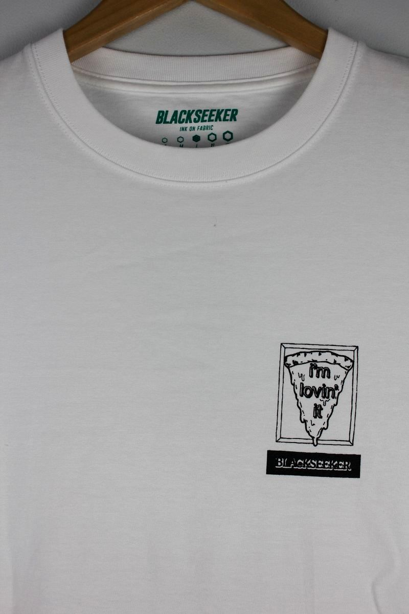 "BLACKSHEEKER / ""I'm lovin' it"" Tee / white"