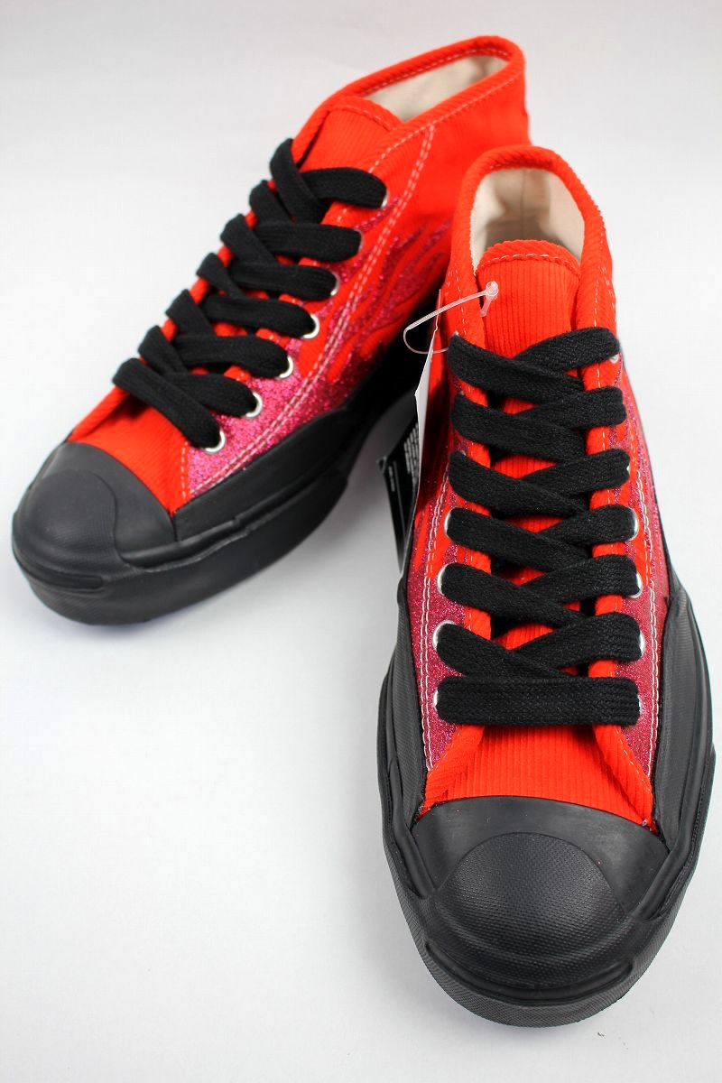 CONVERSE USA×A$AP NAST / JACK PURCELL CHUKKA MID / red×black
