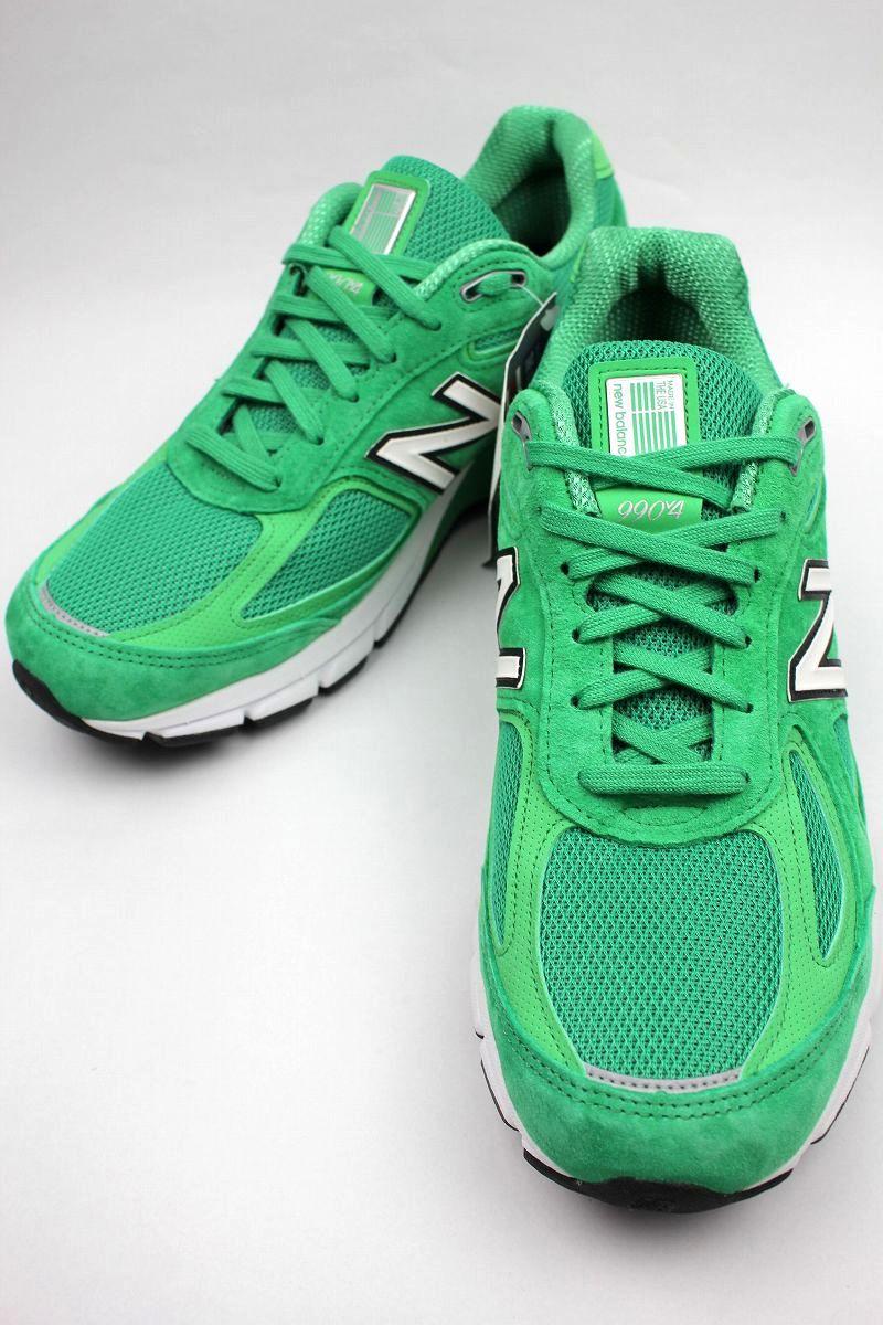 NEW BALANCE / 990v4 / green×white