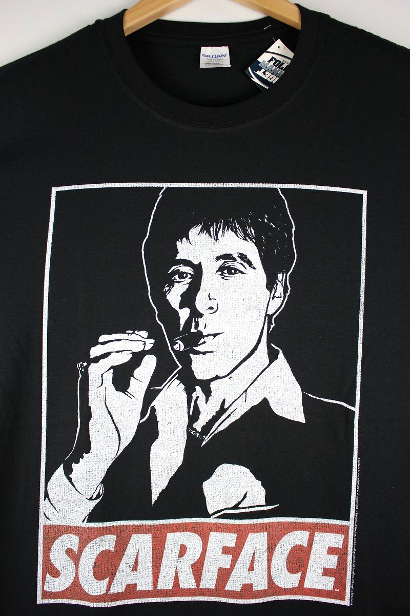 "SCARFACE / ""OBEY TONY"" Tee / black"