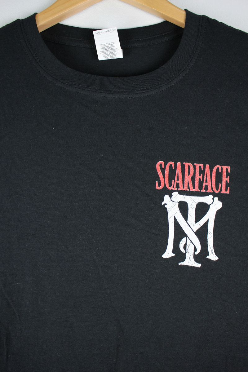 "SCARFACE / ""OTHER NAME SCARFACE"" Tee / black"