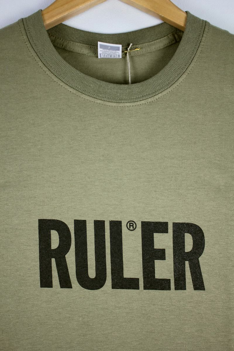 "RULER / ""ICON"" Tee / khaki"