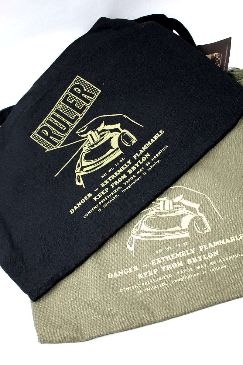 RULER / CANVAS SHOULDER BAG
