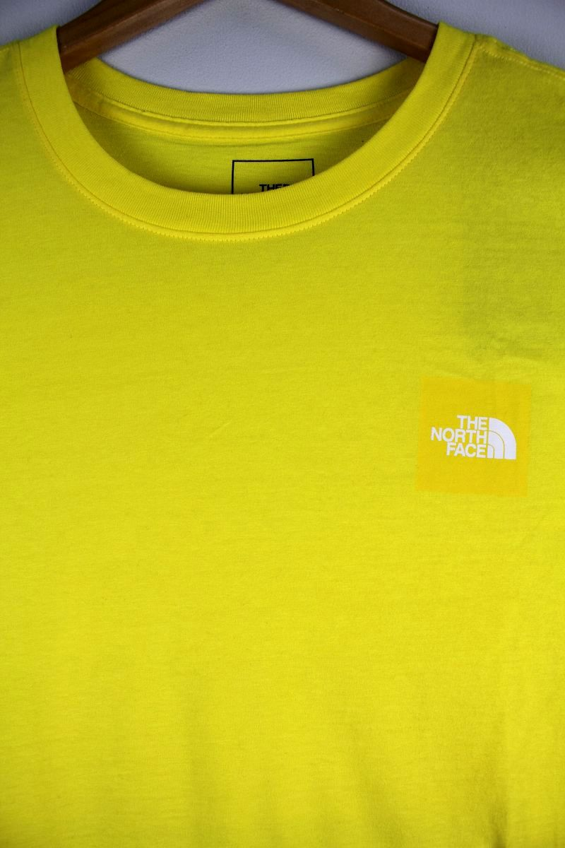 THE NORTH FACE / LOGO Tee / yellow