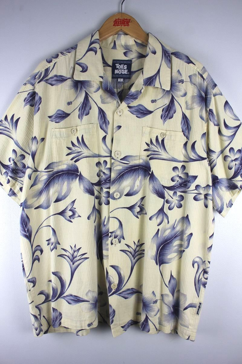 USED!!! TOES ON THE NOSE / ALOHA SHIRTS (90'S)