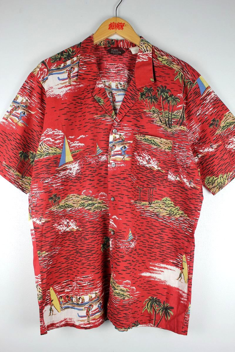 USED!!! MARC DANIELS / ALOHA SHIRTS (90'S)