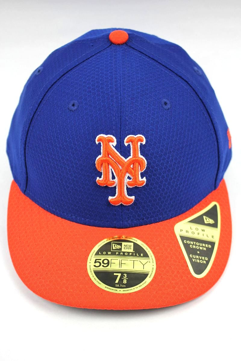 "NEWERA / ""NEWYORK METS"" LOW PROFILE FITTED CAP / blue×orange"