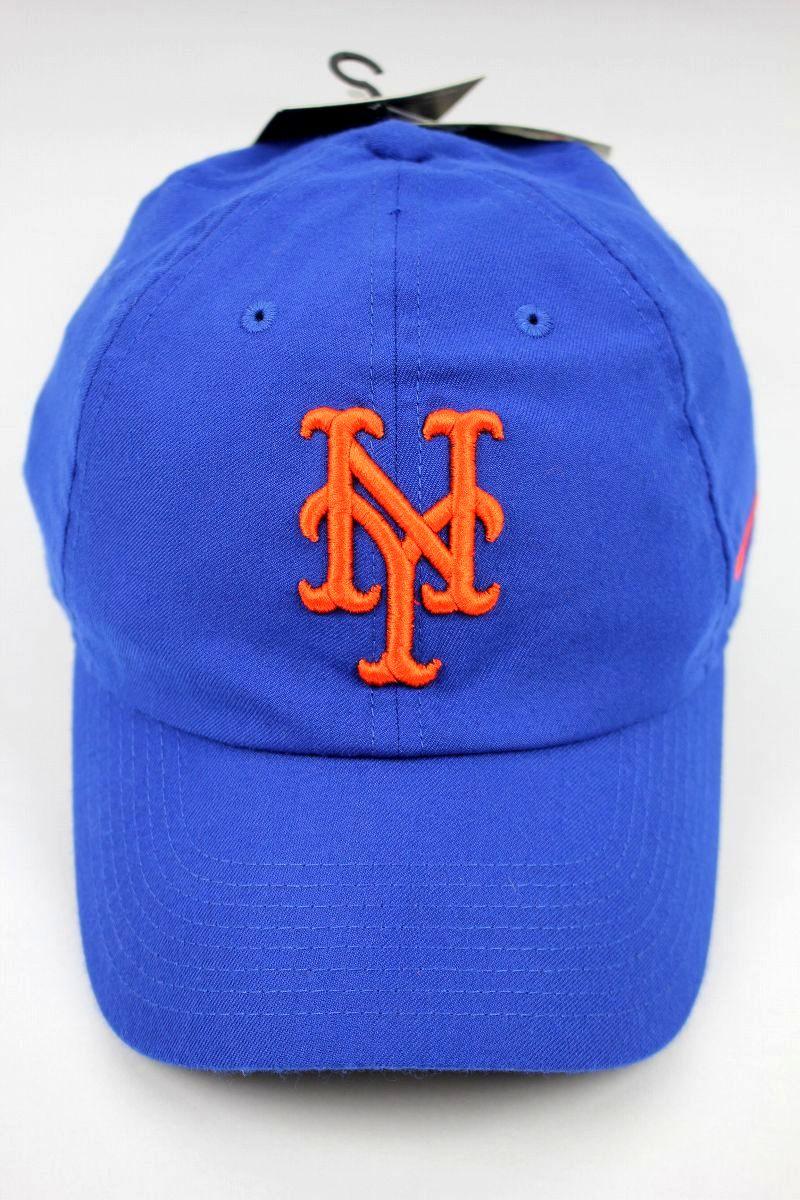 """NIKE / """"NEWYORK METS"""" DRY-FIT STRAPBACK CAP / blue"""