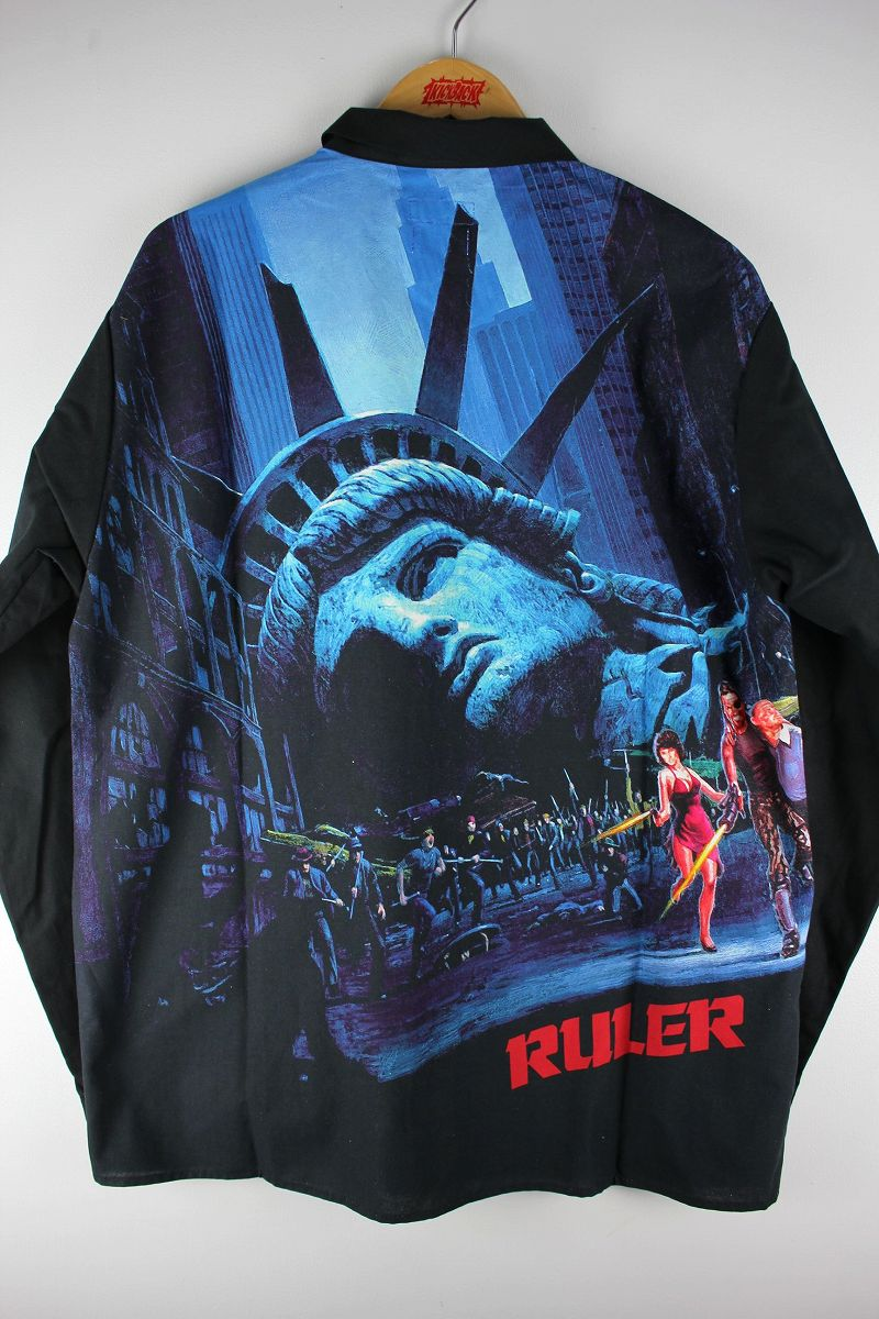 "RULER / ""EFNY"" LS SHIRTS / black"