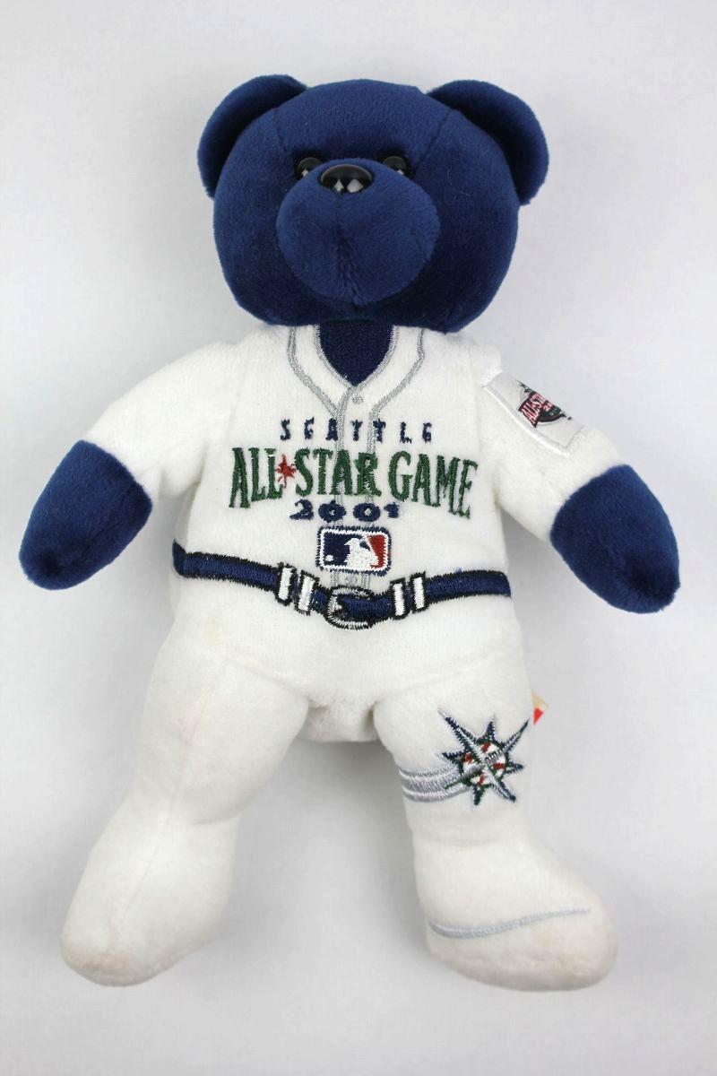 """DEADSTOCK!!! MLB OFFICIAL / """"ALL STAR GAME 2001"""" TEDDY BEAR (2001年製)"""