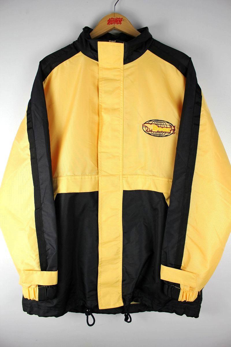 DEADSTOCK!!! BEAR USA / MOUNTAIN JACKET (90'S) / yellow×black