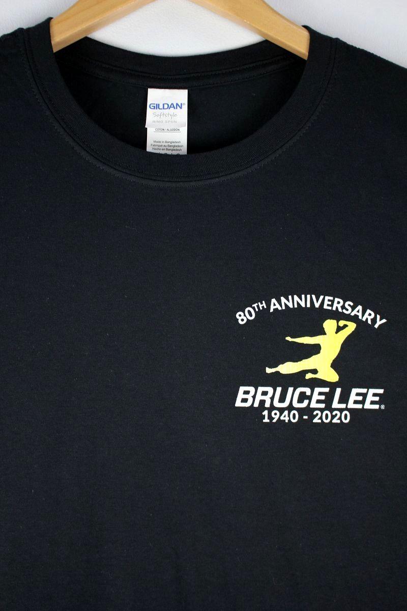 """BRUCE LEE / """"80TH ANNIVERSARY"""" Tee / black"""