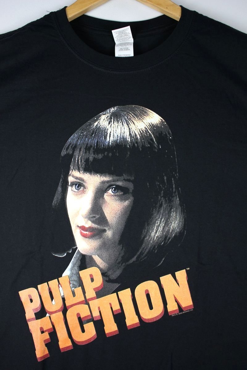 "PULP FICTION / ""MIA SCRIPT"" Tee / black"