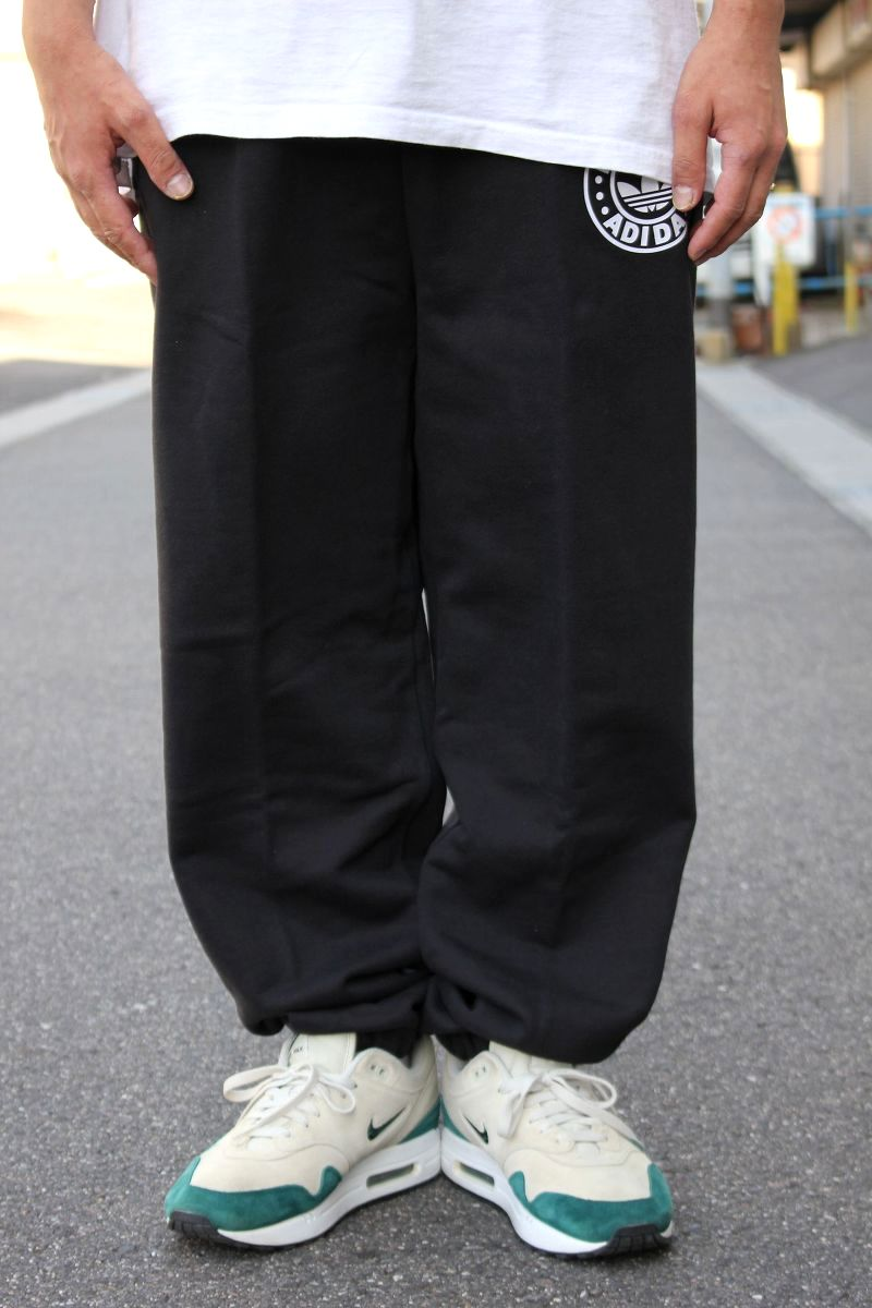 adidas ORIGINALS×RUN DMC / SWEAT PANTS / black
