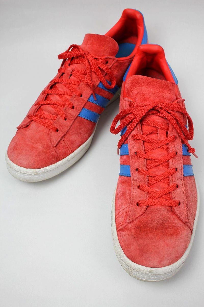 USED!!! adidas ORIGINALS / CAMPUS 80'S (2011年製) / light red×blue