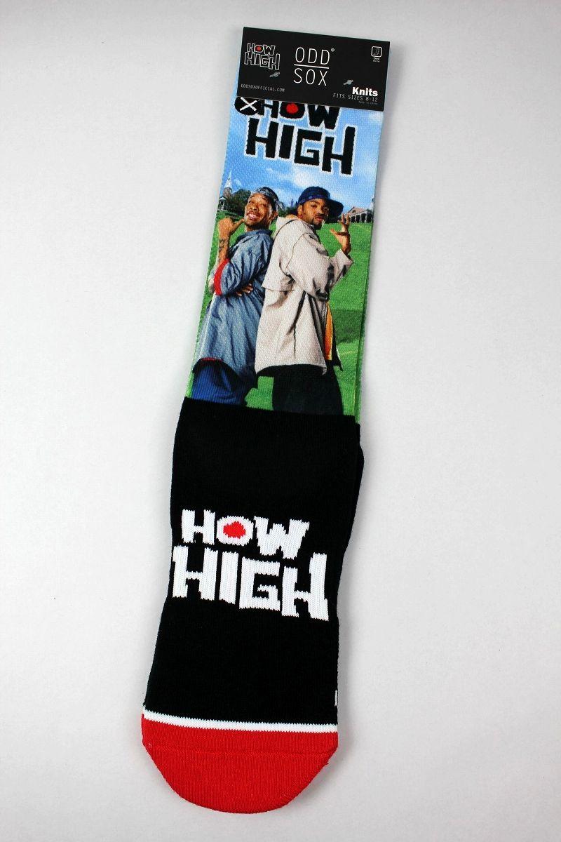 """ODD SOX / """"HOW HIGH"""" SOCKS"""