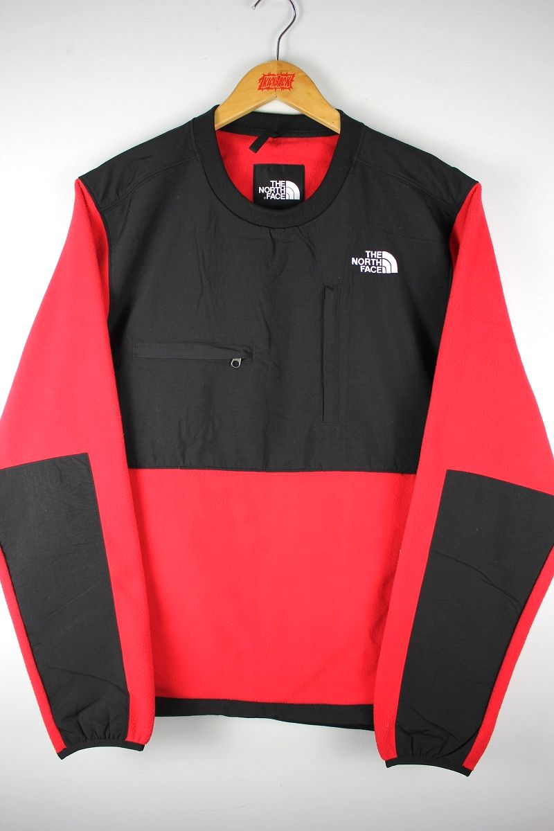 THE NORTH FACE / DENALI CREW / black×red