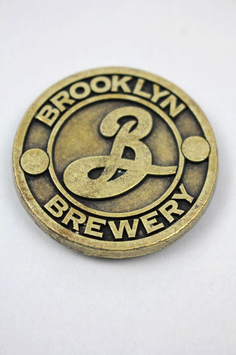 BROOKLYN BREWERY / BRASS MAGNET