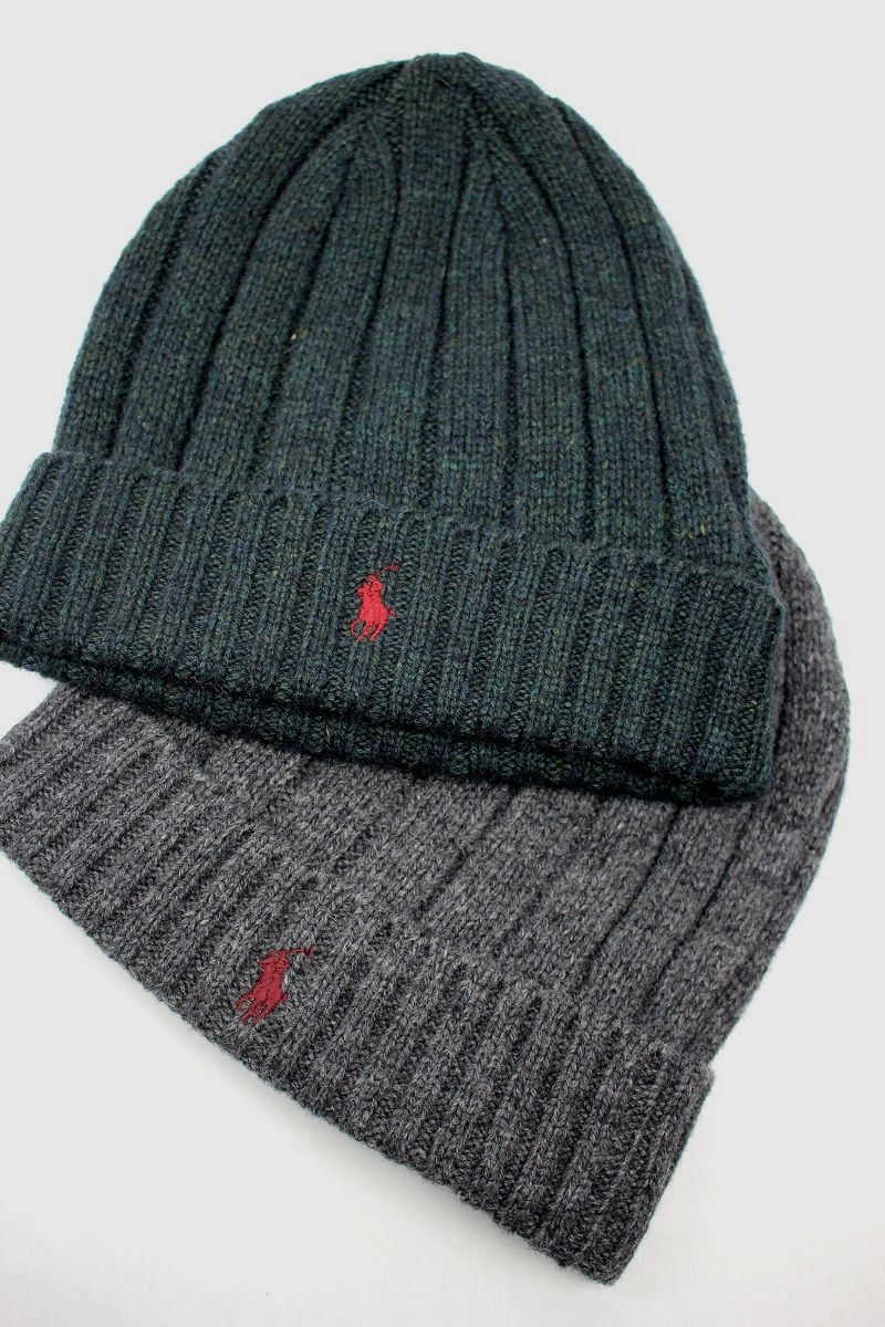 POLO RALPH LAUREN / CABLE KNIT CUFF BEANIE
