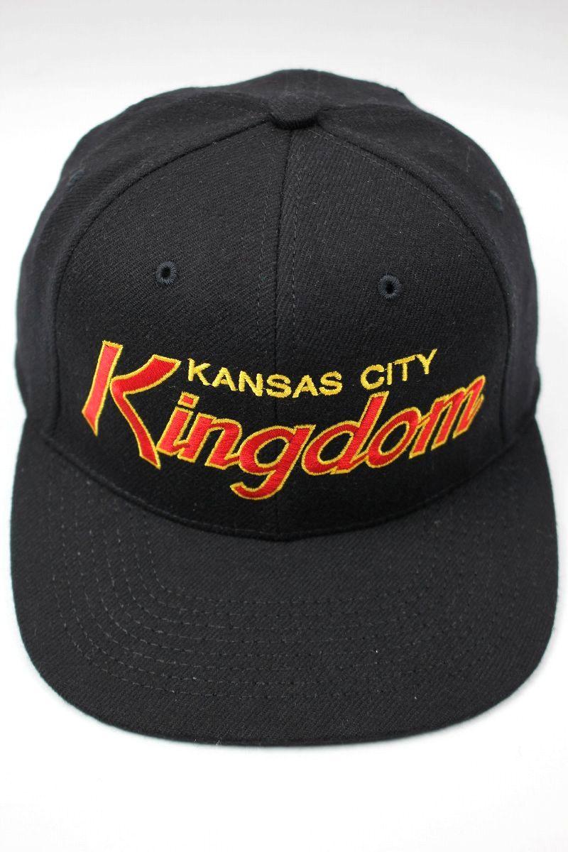 "HOOD HAT / ""KANSAS CITY KINGDOM"" SNAPBACK CAP / black"
