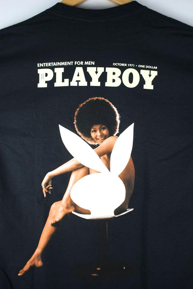 "HUF×PLAYBOY / ""OCTOBER 1971"" Tee / black"