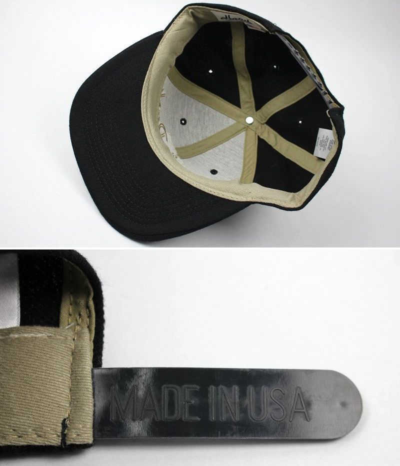 "HOOD HAT / ""HOUSTON SOUTH PARK TX"" SNAPBACK CAP / black"