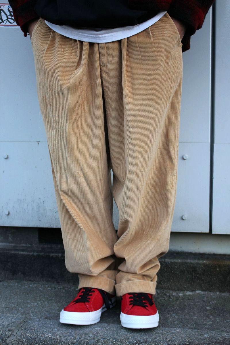 USED!!! PENDLETON / WIDE WALE CORDUROY PANTS (90'S) / beige