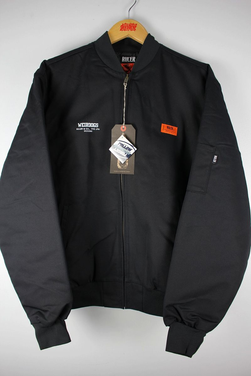 "RULER / ""WEIRDOGS"" RK TEAM JACKET / black"