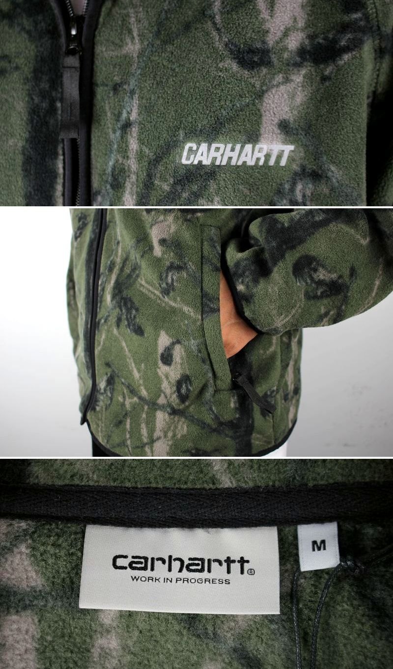 "CARHARTT WIP / ""BEAUFORT"" FLEECE JACKET / green"