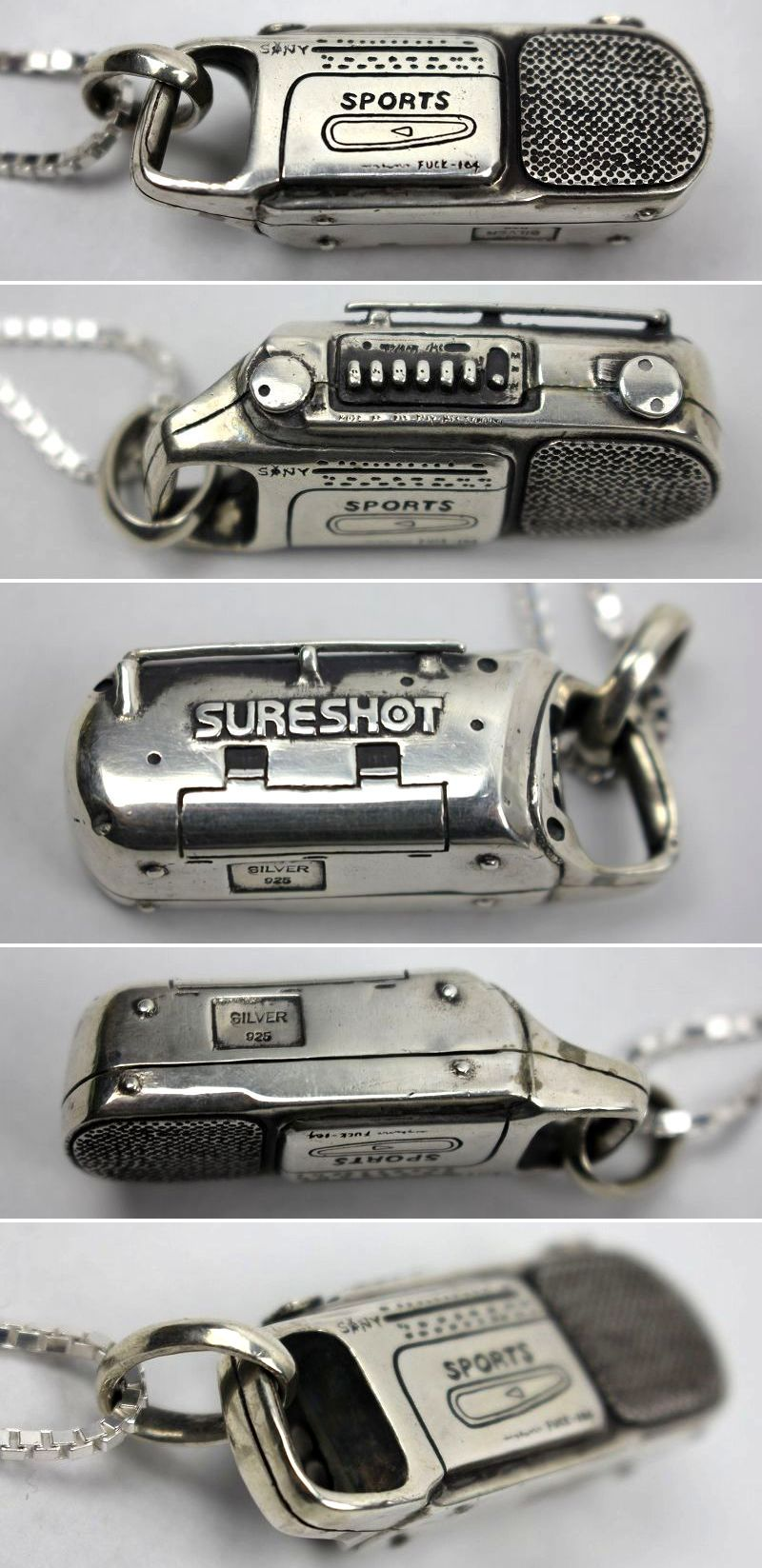 "STUNNUTS / ""SURE SHOT -BOOMBOX-"" NECKRACE"