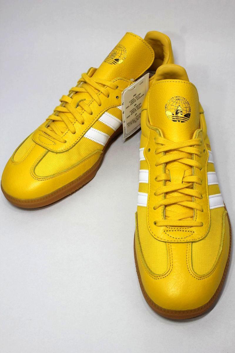 adidas ORIGINALS × OYSTER / SAMBA OG / yellow