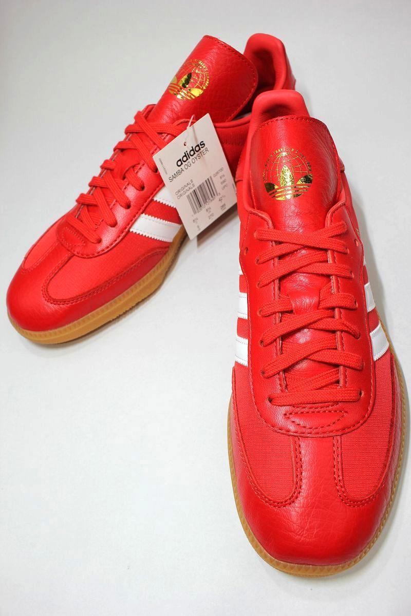 adidas ORIGINALS × OYSTER / SAMBA OG / red