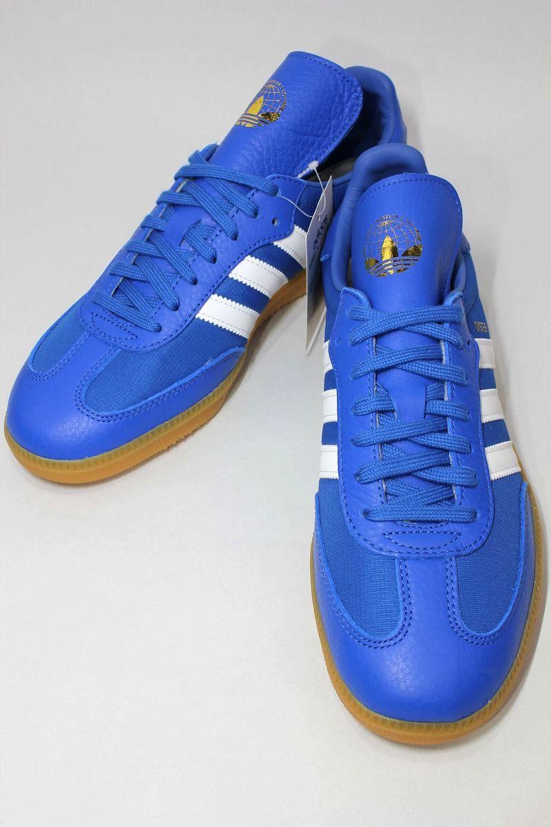 adidas ORIGINALS × OYSTER HOLDINGS / SAMBA OG / blue