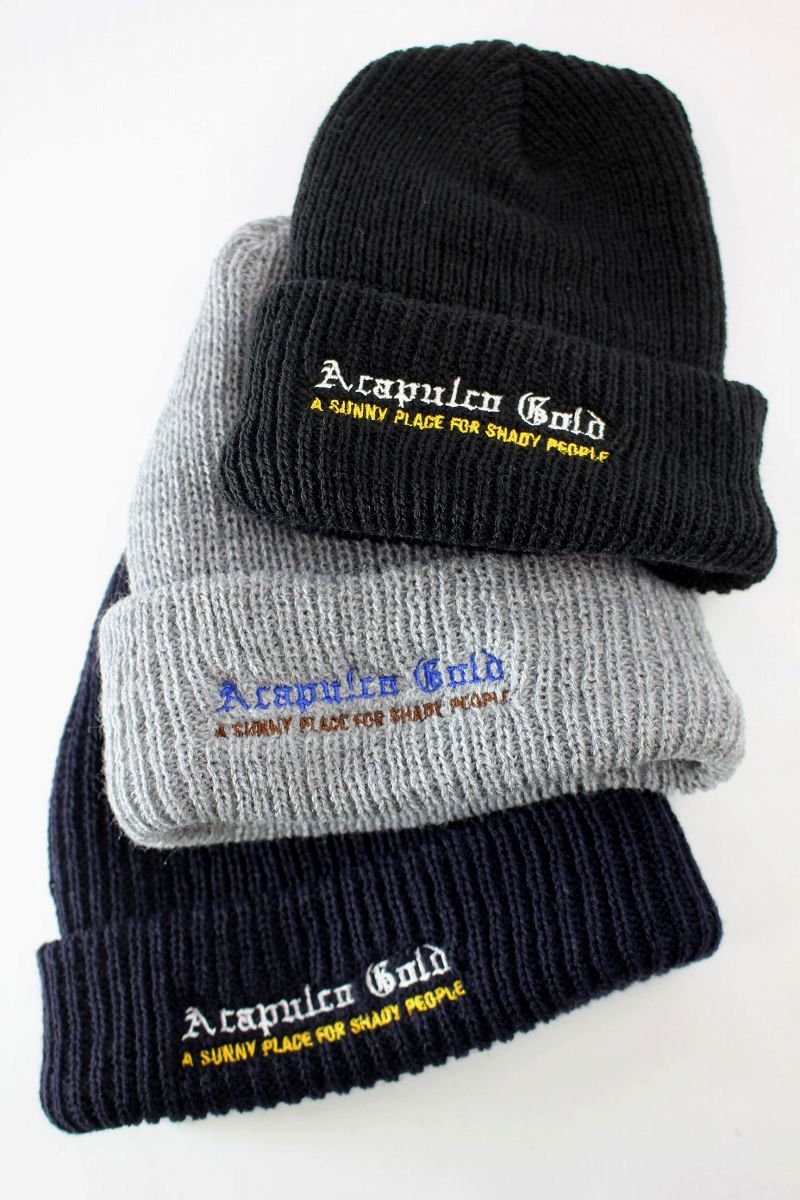 "ACAPULCO GOLD / ""CHIEF"" CUFF BEANIE"