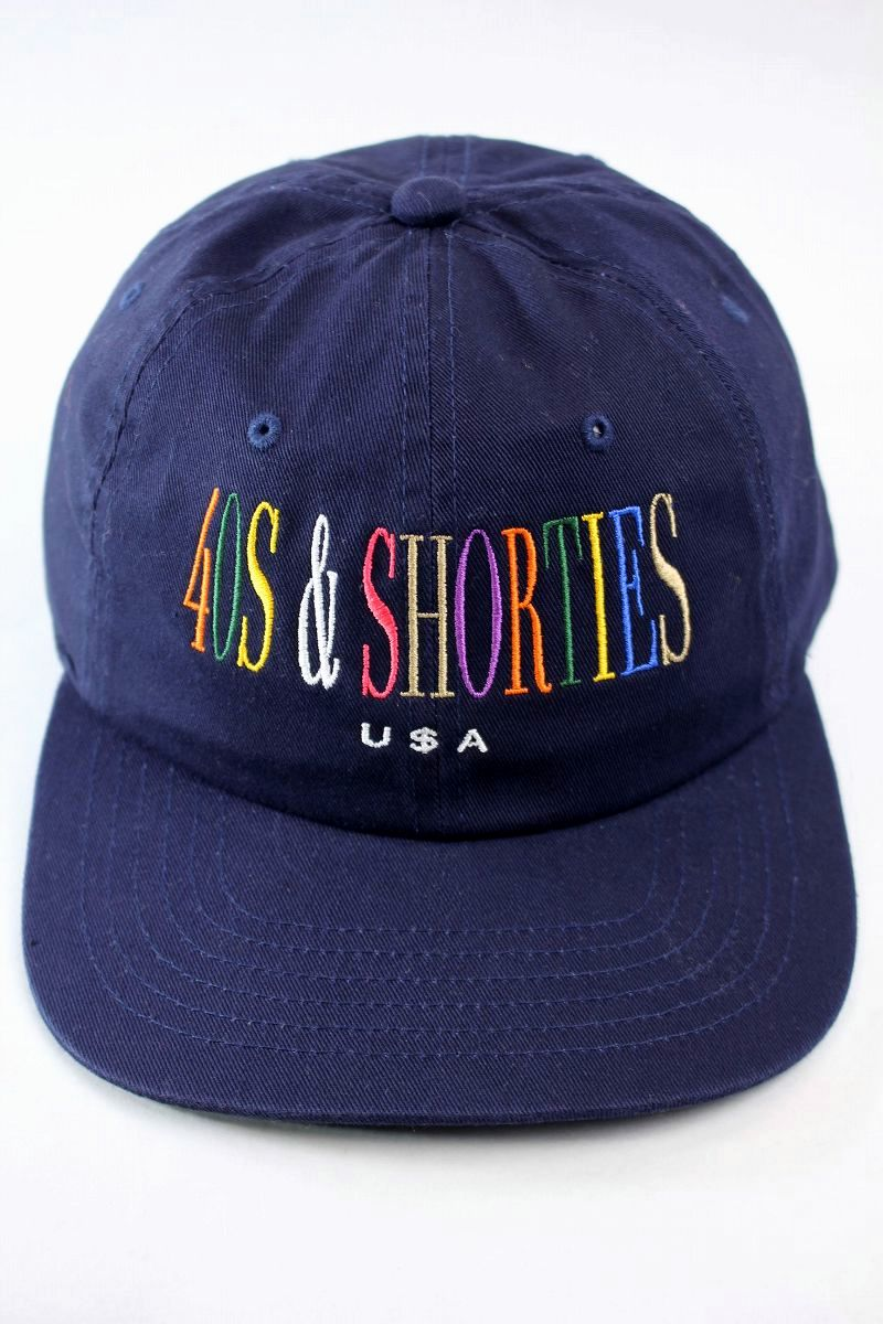 "40S & SHORTIES / ""UNITY"" STRAPBACK CAP / navy"