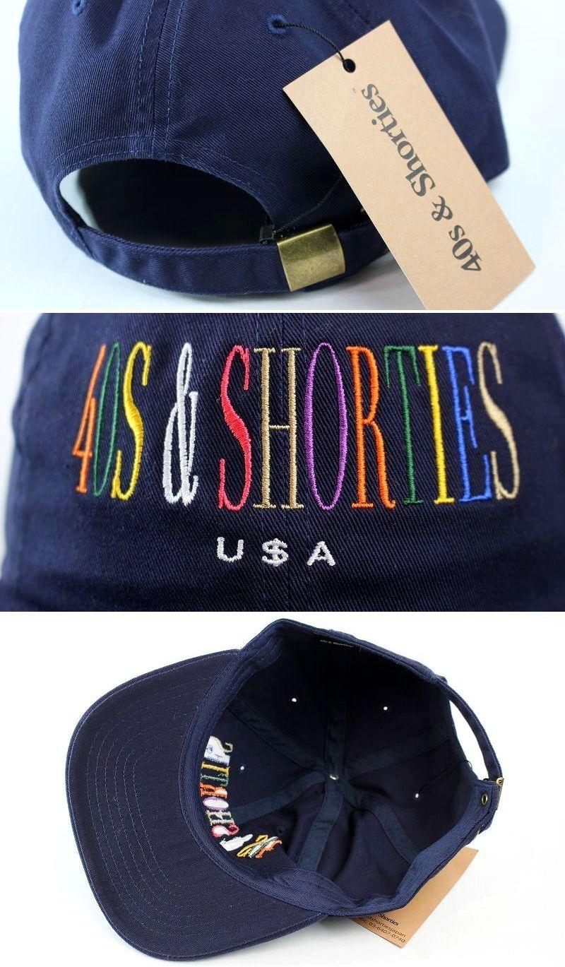 "40S & SHORTIES / ""UNITY"" STRAPBACK CAP / navy"