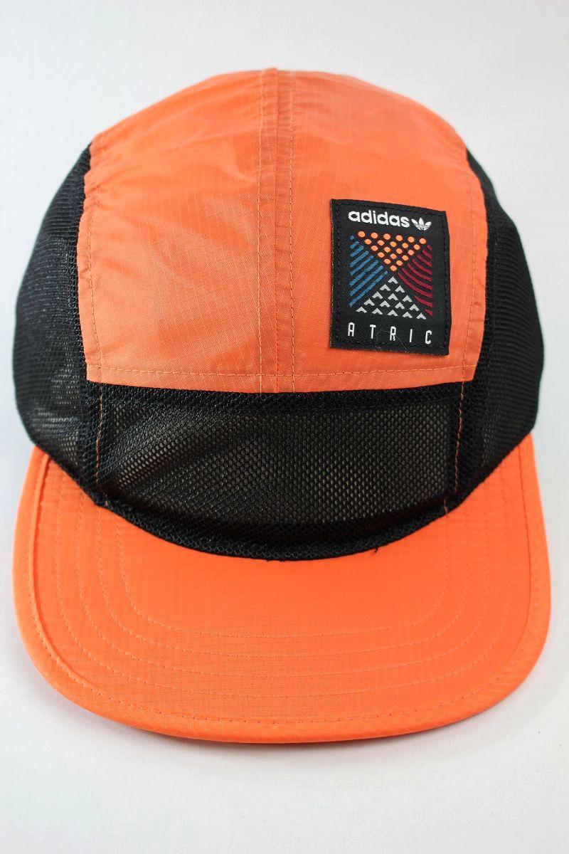 """adidas ORIGINALS / """"ATRIC"""" 5-PANEL CAP / orange×black"""
