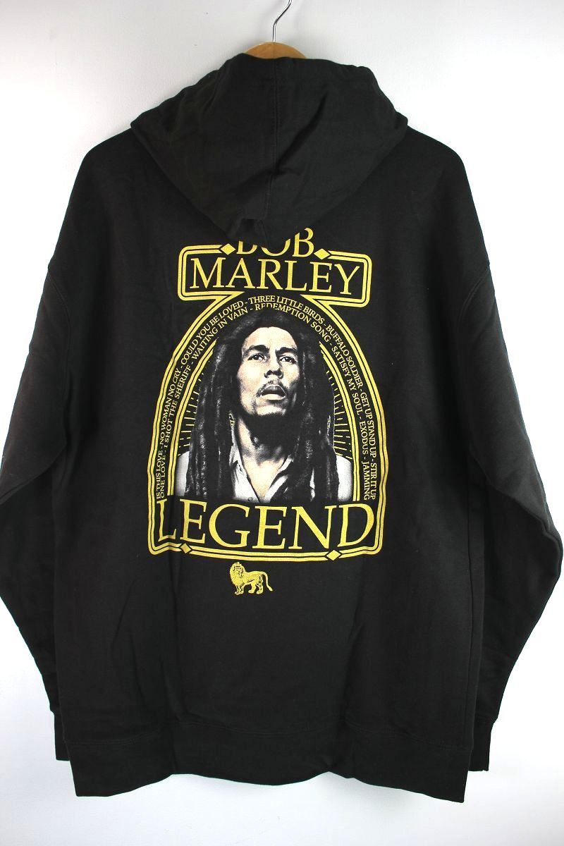 "BOB MARLEY / ""LEGEND"" SWEAT HOODIE / black"