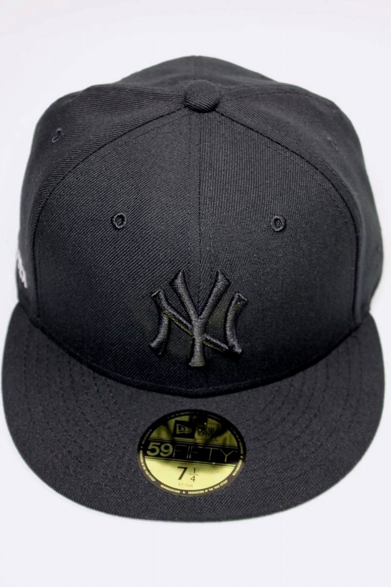 "NEWERA / ""NEWYORK YANKEES"" GORE-TEX FITTED CAP / black×black"