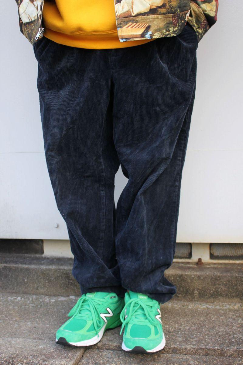 USED!!! GAP / WIDE WALE CORDUROY PANTS (00'S) / navy